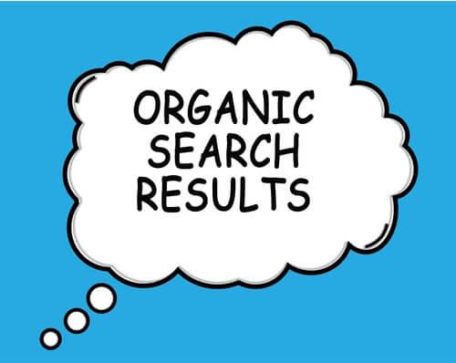 organische-zoekresultaten